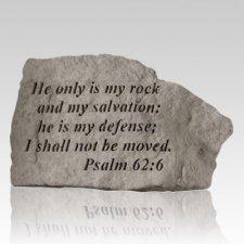 He Only Is My Keepsake Rock