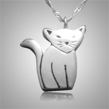 Cat Cremation Pendant III