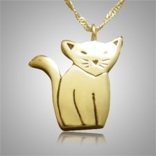 Cat Cremation Pendant II