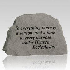 To Everything There Is A Season Rock