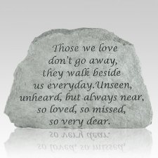 Those We Love Keepsake Rock