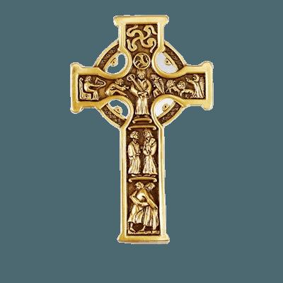 Celtic Cross Medallion Appliques