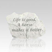 Good Horse Memorial Stone