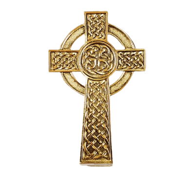 Knotted Celtic Cross Medallion Appliques
