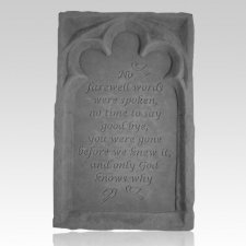 No Farewell Words Tablet