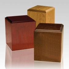 Contempo Wooden Pet Urns