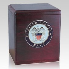 Freedom Rosewood Navy Urn