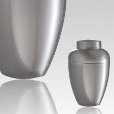 Slate Steel Keepsake Cremation Urn