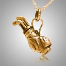 Golf Clubs Keepsake Pendant IV