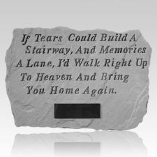 If Tears Could Build Personalized Stone