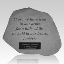 In Our Hearts Pet Memory Stone