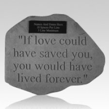 If Love Pet Memory Stone