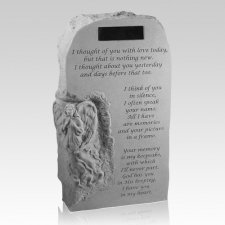 Angel Obelisk Pet Memory Stone