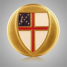 Episcopal Shield Medallion Appliques