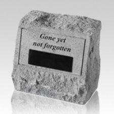 Gone Yet Not Forgotten Headstone