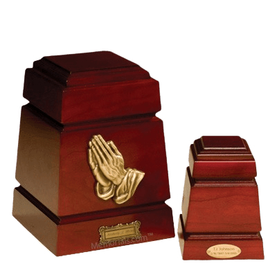 Monticello Praying Hands Cremation Urns