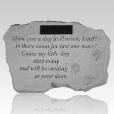 Have You A Dog In Heaven Personalized Stone