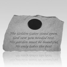 The Golden Gates Personalized Stone