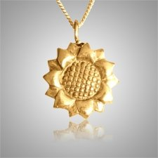 Sun Flower Keepsake Pendant IV