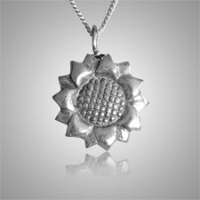 Sun Flower Keepsake Pendant