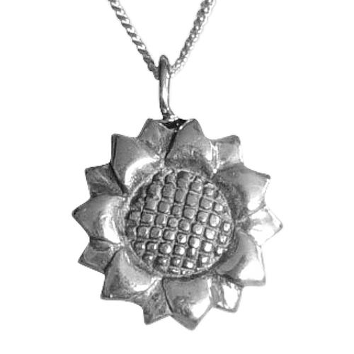 Sun Flower Keepsake Pendant