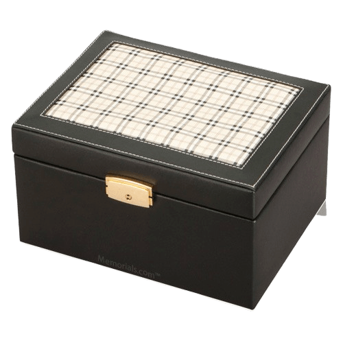 Saving Grace Leather Cremation Urn
