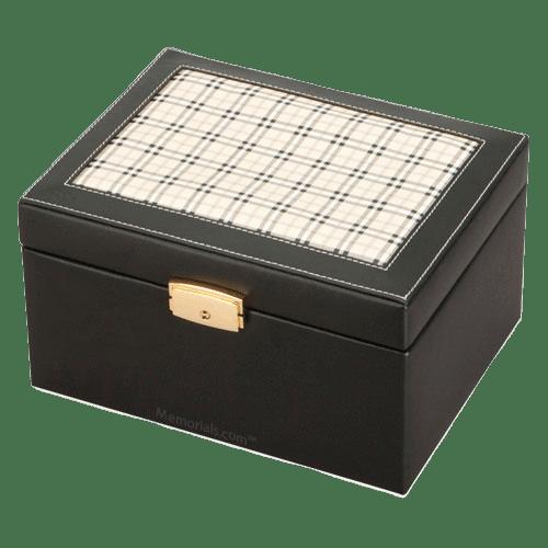 Saving Grace Leather Cremation Urn