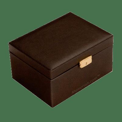 Precious Kingdom Leather Cremation Urn