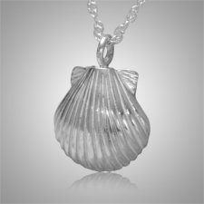 Seashell Nature Keepsake Pendant III