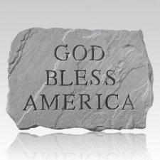 God Bless America Stone