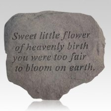 Sweet Little Flower Stone