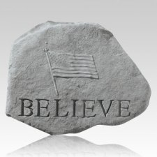 Believe with Flag Stone