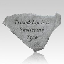 Friendship Is A Sheltering Tree Keepsake Rock