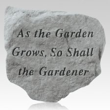 As The Garden Grows Stone