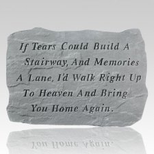 If Tears Built Pet Memory Stone