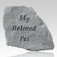 My Beloved Pet Memorial Stone