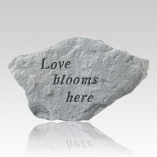 Love Blooms Here Rock