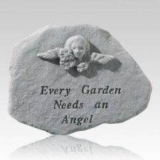 Every Garden Needs An Angel Stone