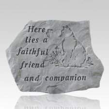 Here Lies A Faithful Friend Stone II