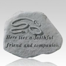 Here Lies A Faithful Friend Stone