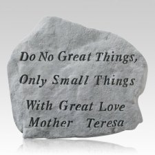 Do No Great Things Stone