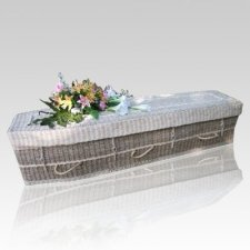 Ivory Seagrass Green Caskets