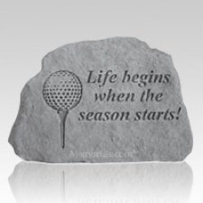 Life Begins Golf Rock