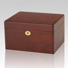 Remembrance Chest Wood Cremation Urn