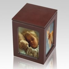 Photo Dog Cremation Urn