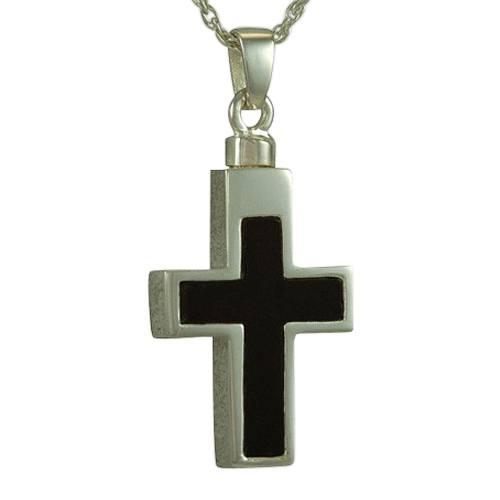 Onyx Insert Cross Cremation Keepsakes III