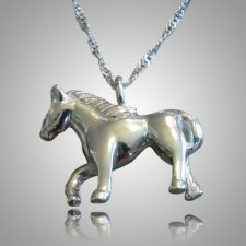 Pet Horse Cremation Keepsake