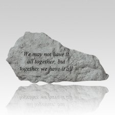 We May Not Have It All Rock