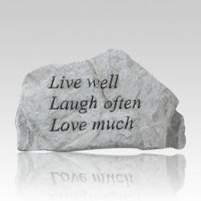 Live Well - Laugh Often Rock