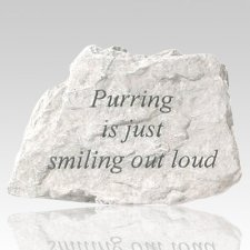 Purring Is Just Smiling Stone